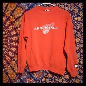 Vintage 90's Detroit Red Wings Starter Sweatshirt
